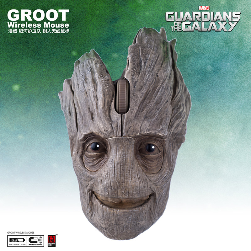 เมาส์ไร้สาย Groot Guardians of the GalaxyWireless Mouse