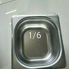 อ่างอาหารสแตนเลส 1/6 ลึก 10 ซม. Gastronorm Pan 040-GN-1604