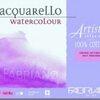 Fabriano Artistico Block Extra White Cotton100% 30.5x45.5cm 300g 20sht - Hotpress(เรียบ)