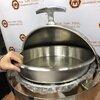 อ่างอุ่นอาหารกลม (หนา) 005-H6503,ชุดอ่างอุ่นอาหารแบบกลมหนา