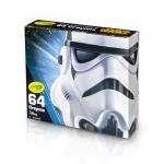 Crayola Star Wars, Stormtrooper สีเทียน 64 แท่ง ปลอดสารพิษ เหมาะกับน้อง 3 ขวบขึ้นไป