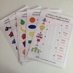 แบบฝึกทักษะการสังเกตสี และคำศัพท์ (ระดับ อ.3 ขึ้นไป)