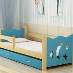 TP21005 (WDK5S) เตียงนอนไม้ เตียงเดี่ยวสำหรับเด็ก Little Moon Star