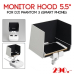 "Monitor Hood 5.5"" for DJI Phantom 3 (Smart Phone)"