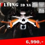 Flying 3D X6