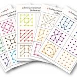 แบบฝึกทักษะการประสานสายตาและมือ เกม จุดต่อจุด (ระดับ อ. 2 ขึ้นไป)