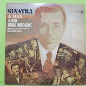 แผ่นเสียง FRANK SINATRA A MAN AND HIS MUSIC 2 แผ่น made in USA