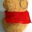 ตุ๊กตาพวงกุญแจหมีสีน้ำตาล ความสูง 11 ซม. thumbnail 4