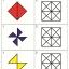 แบบฝึกทักษะการสังเกตรูปมิติสัมพันธ์ ระบายสีช่องขวามือให้เหมือนแบบด้านซ้ายมือ (ระดับ อ.3 ขึ้นไป) thumbnail 2