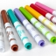 Crayola Fabric Fine Line Markers สีเมจิกเขียนผ้า 10 แท่ง thumbnail 4