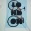 เสื้อยืดพื้นขาว (GRAVITY59) แฟชั่นแนว Vintage ลายจักรยานพิมพ์คำว่า LONDON Size:L thumbnail 2