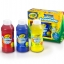 Crayola Washable Finger Paint 8oz: Primary สีระบายด้วยนิ้ว 3 สี (แดง น้ำเงิน เหลือง) thumbnail 2