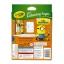 Crayola Mini Coloring Pages with Markers - Minions การ์ดระบายสี ลายมินเนี่ยน 80 แผ่น พร้อมสีเมจิกล้างออกได้ 6 สี thumbnail 2