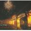 โปสการ์ดท่องเที่ยวไทย ชุด 3 ใบ 3 แบบ รูปวัดพระธาตุหริภุญชัย, ทำร่มเชียงใหม่ และสะพานข้ามแม่น้ำแคว thumbnail 3