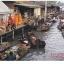 โปสการ์ดท่องเที่ยวไทย ชุด 3 ใบ 3 แบบ รูปตลาดน้ำ thumbnail 3
