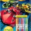 Crayola Coloring & Activity Pad: Hot Wheels แผ่นภาพระบายสี และกิจกรรม ลายรถแข่ง thumbnail 1