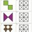 แบบฝึกทักษะการสังเกตรูปมิติสัมพันธ์ ระบายสีช่องขวามือให้เหมือนแบบด้านซ้ายมือ (ระดับ อ.3 ขึ้นไป) thumbnail 4