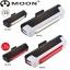 ไฟติดจักรยาน MOON Comet USB ชาร์จได้ในตัว ไฟหน้า ไฟหลัง thumbnail 1