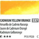 สีน้ำ ShinHan(PWC) 15ml SeriesC - 537 Cadmium Yellow Orange
