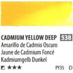 สีน้ำ ShinHan(PWC) 15ml SeriesD - 538 Cadmium Yellow Deep