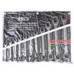 META ประแจปากตายข้าง /แหวนข้าง 11 ตัวชุด (8-24 มม.)
