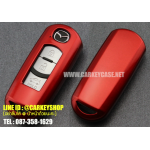 ABS Case สำหรับ MAZDA รุ่น SMARTKEY สีแดง