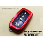 ABS CASE FOR TOYOTA แบบ SMARTKEY [4 ปุ่ม] สีแดง