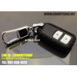 [SILICONE] CARBON CASE FOR HONDA SMARTKEY 2 ปุ่ม