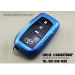 ABS CASE FOR TOYOTA แบบ SMARTKEY [4 ปุ่ม] สีฟ้า