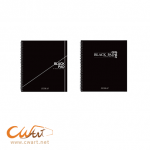 สมุดสเก็ตBlack pad Seikai 19.5x21.5cm,150g (กระดาษดำ)