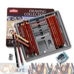 สีDerwent รุ่นDrawing Collection x24ชิ้น