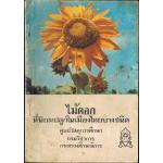 ไม้ดอกที่นิยมปลูกในเมืองไทยบางชนิด