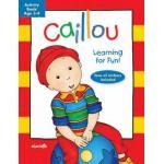 แบบฝึกหัดคายู อายุ 3-4ปี / Caillou: Learning for Fun: Age 3-4