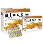 Black Sesame Oil 1000 mg. แบล็ค เซซามิน ออยล์ บรรจุ 60 แคปซูล (แถมฟรี 10 แคปซูล) ราคา 740 บาท ส่งฟรี EMS [ไม่ต้องโอนค่าส่ง]