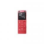 SONY เครื่องบันทึกเสียงหน่วยความจำ 4 GB รุ่น ICD-UX560F สีชมพู