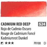 สีน้ำ ShinHan(PWC) 15ml SeriesD - 524 Cadmium Red Deep