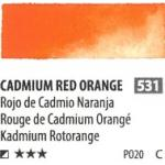 สีน้ำ ShinHan(PWC) 15ml SeriesC - 531 Cadmium Red Orange