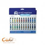 ชุดสีน้ำ Art Creation x12ml,24สี