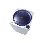Sharp เครื่องซักผ้าฝาบน 8 KGS มี Ag Pulsator ป้องกันเชื้อรา รุ่น ES-U80GT-A สีขาว