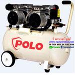 POLO OFS5502-50 ปั้มลมออยล์ฟรี 1.5HP 2 หัว