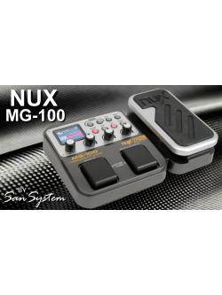 เอฟเฟ็ค มัลติ ยี่ห้อ Nux รุ่น Mg-100