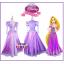 ชุดเจ้าหญิงราพันเซล Rapunzel thumbnail 1