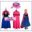 ชุดเจ้าหญิงอันนา Anna-Frozen thumbnail 1