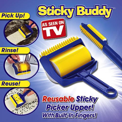ลูกกลิ้งทำความสะอาดอเนกประสงค์ Sticky Buddy