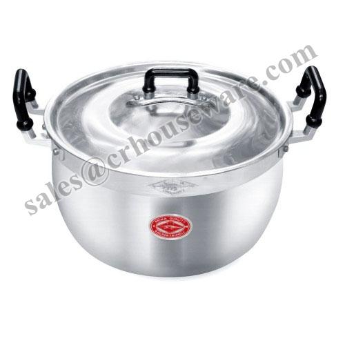 หม้อข้าวอลูมิเนียม Rice Cooking Pot 008-CP01124