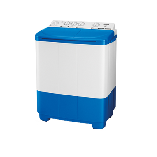 Panasonic เครื่องซักผ้า 2 ถัง ขนาด 7.5 โล รุ่น NA-W806N สีฟ้า