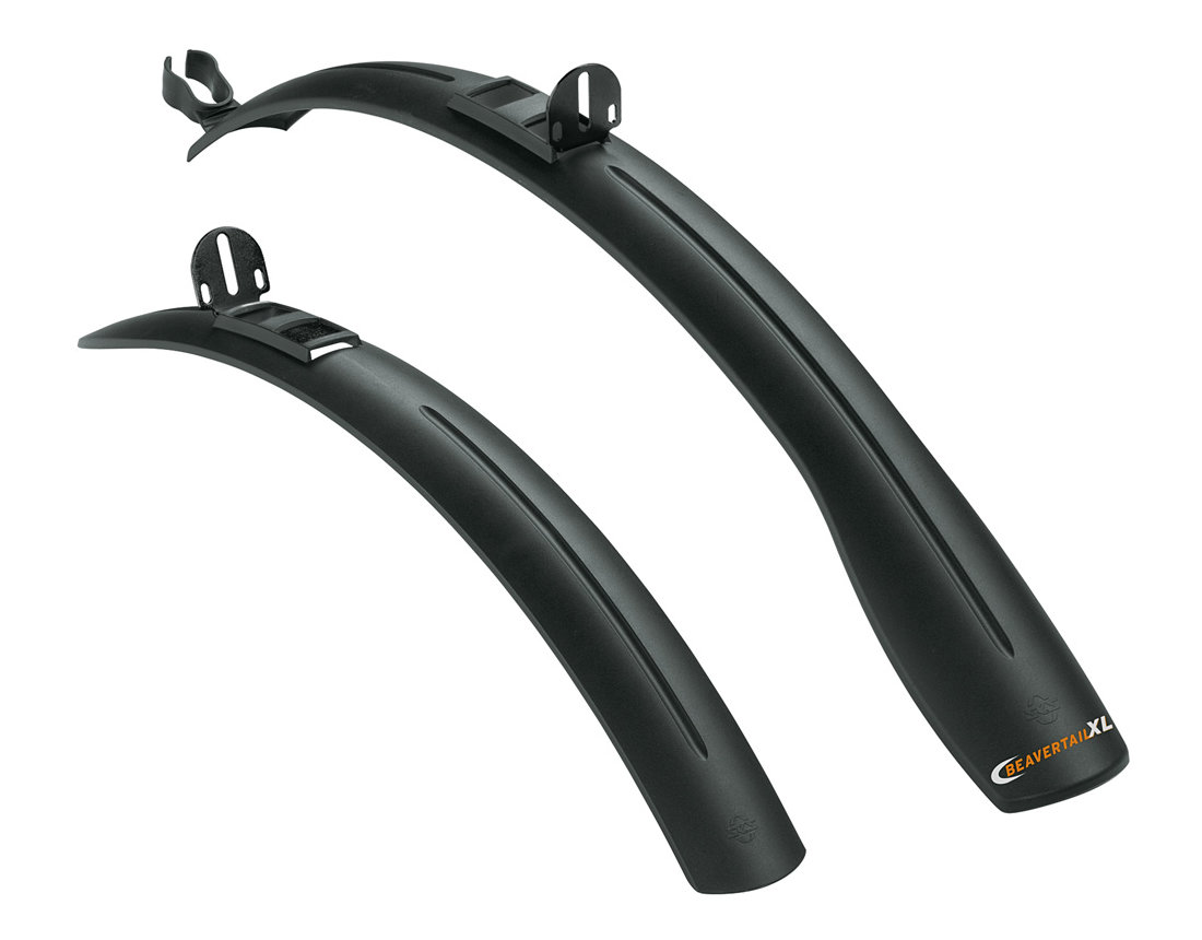 SKS Beavertail XL Plug Mudguard Set 26-28""
