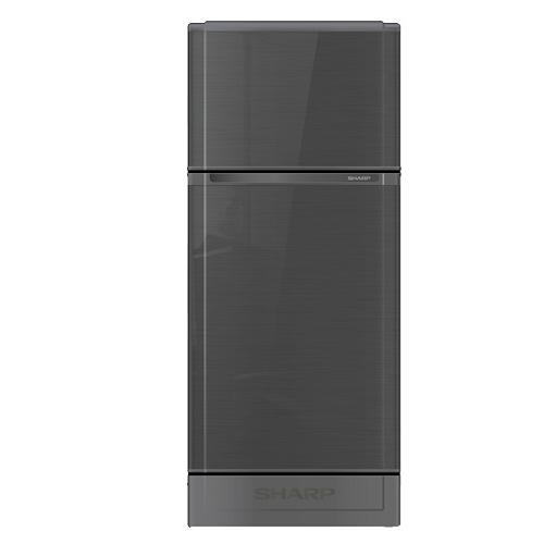 Sharp ตู้เย็น 2 ประตูความจุ 5.9 คิว รุ่น SJ-C19E-WMS สีเทาเงิน