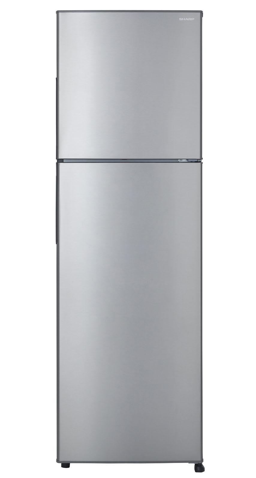 Sharp ตู้เย็น 2 ประตู พร้อมระบบฟอกอากาศ Ag+ Nano ขนาด 8.9 คิวรุ่น SJ-Y25T-SL - สีเงิน