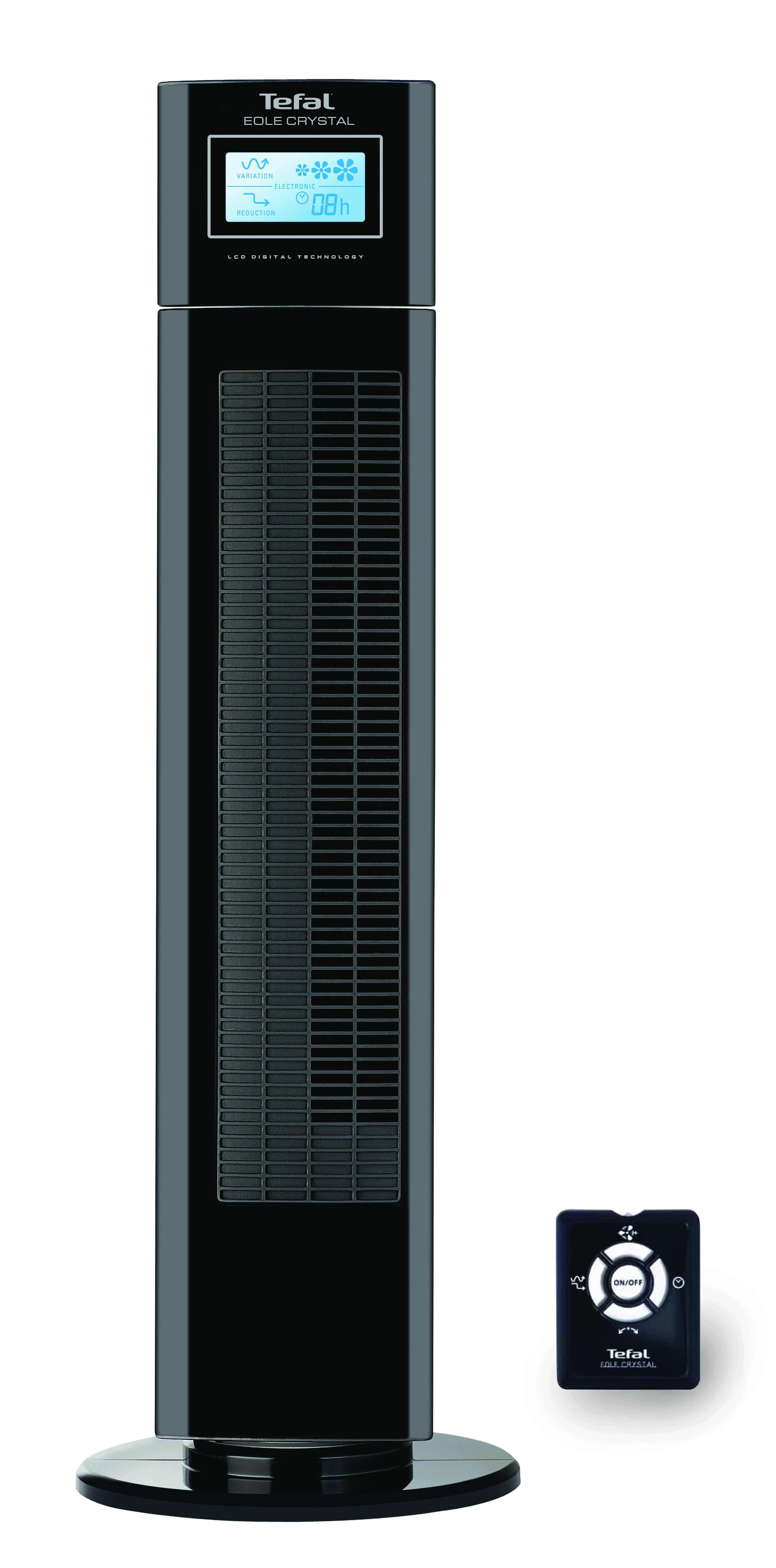 TEFAL พัดลมทาวเวอร์ จอ LCD แสดงผล ปรับความเร็ว 3 ระดับ รุ่น VU6555